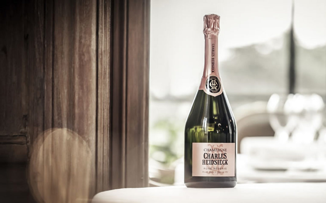 Champagne Heidsieck.